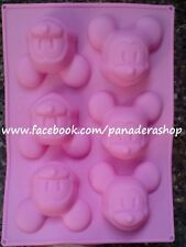 Disney Mickey Mouse Silicone Soap Chocolate Jelly Mold Molder