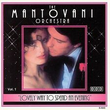 Lovely Way to Spend an Evening, Vol. 1 by Mantovani (CD, 1994, Madacy)