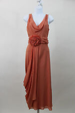 NEW TEMPERLEY LONDON CORAL MAXI LONG GODDESS ANISHA DRESS SZ UK 10 US 6 NWT