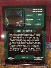 Star Wars Topps Chrome Perspectives Gold Parallel Card Hondo Ohnaka 17/50