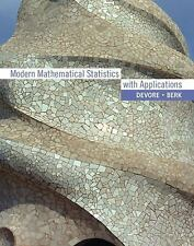 Modern Mathematical Statistics with Applications (with CD-ROM)