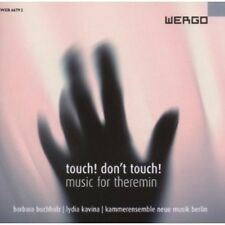Lydia Kavina - Touch Don't Touch - Music for Theremin [New CD]