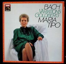 Bach Variations Goldberg Maria Tipo LP VG++, CV NM -