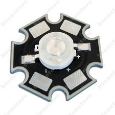 50pcs 3W 45mil Royal Bule 445nm LED Grow Light Part With 20mm Star Base