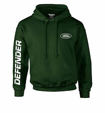 Defender Land Rover Hoody Sleeve Printed Green White Hoodies Gift Modified 4x4 M