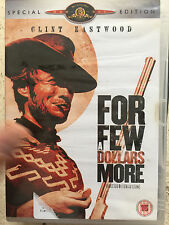 Clint Eastwood FOR A FEW DOLLARS MORE ~ Leone Western | 2-Disc Spec Ed UK DVD