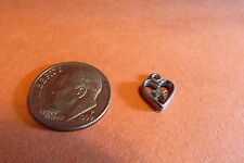 Fifty Pewter Heart Love Charms