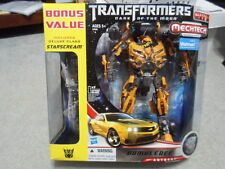 Transformers DOTM Dark of the Moon Leader Class Bumblebee New w Starscream