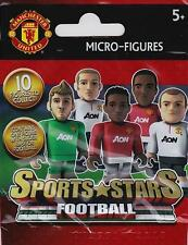 CHARACTER BUILDING SPORTS STARS MICRO-FIGURE - YOUNG - MAN UTD HOME - NEW