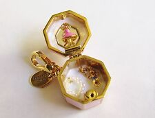 Juicy Couture 2014 Lt. Ed. Ballerina Pink Music Box Charm, YJRU7598, NWT