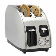 T-fal Avante Icon 2-Slice High Speed Stainless Steel 1200w Toaster TT560E50 -NEW