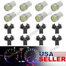 8×T10 White Epistar PC194 Wedge Dashboard Instrument Cluster LED Light