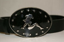 CowGirl Cow Girl Sexy Lady Belt Buckle