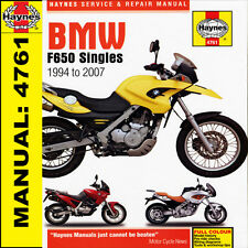BMW F650 Funduro Strada Dakar 1994-2007 Haynes Manual 4761 NEW