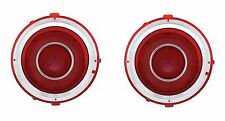 NEW! 1970-1971 Chevy Camaro Led LED Tail Lights Red Brake Stop Turn Super Bright