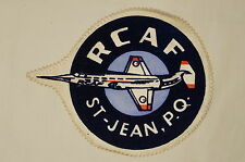 Canadian RCAF St Jean CF104 Fighter Crest Patch