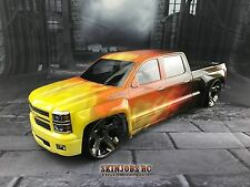 CUSTOM PAINTED RC BODY, SAVAGE, T/E/-Maxx, Revo,MGT, SUMMIT, NERO, CANDY FLAMES