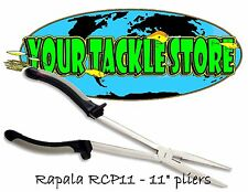 "Rapala RCP11 Long Reach Pliers NIP Factory Direct 11"" RCP"