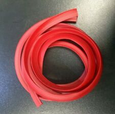 Side panel trim rubber red (pair) for Vespa PX & LML Star