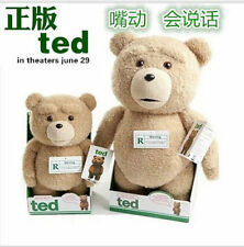 "NEW 24"" OFFICIAL TALKING TED MOVIE CUDDLY PLUSH TOY TEDDY BEAR WITH SOUND"
