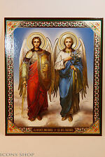 Archangels Michael and Gabriel  Архангелы Михаил и Гавриил 15х18 cm Icon