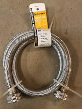 Washer Washing Machine 4' Stainless Steel Inlet Fill hose Danco 3/4""
