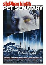 Pet Sematary - Stephen King - A4 Laminated Mini Poster
