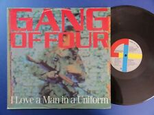 GANG OF FOUR I LOVE A MAN IN UNIFORM emi 82 A-2UB-1U p/s 12in EX