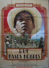 RUE CASE NEGRES Affiche Cinéma / Movie Poster Garry Cadenat Darling Legitimus