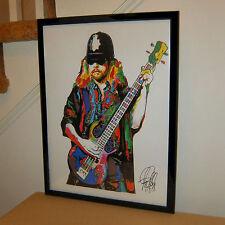 Leon Wilkeson, Lynyrd Skynyrd, Bass, Bassist, Southern Rock, 18x24 POSTER w/COA