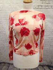 Splendid Genuine Vintage 1970s 100% Silk Emilio Pucci Top/Blouse Size 14/16