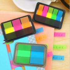 Small Sticky Post-It Notes Paper Diary Notebook Memo Pad Tab Office 3 Strips