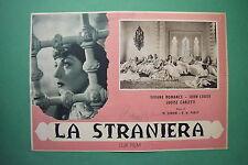 P3 FOTOBUSTA CARTONATA LA STRANIERA VIVIANE ROMANCE LODGE PABST 2