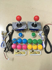 Arcade DIY parts for JAMMA MAME USB Cabinet : buttons, joysticks, USB interface