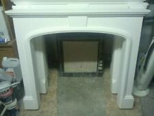 plain georgian plaster fire surround living room good for stoves FREE DELIVERY