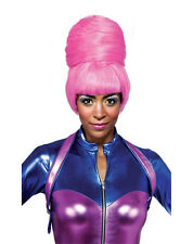 NICKI MINAJ COSTUME PINK BEEHIVE BUN WIG VMA MUSIC VIDEO RAP POPSTAR WOMENS