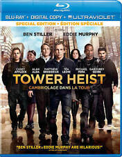 Tower Heist (Blu-ray Disc, 2013, Canadian)