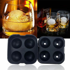 Whiskey Ice Cube Ball Maker Mold Sphere Mould Party Tray Round Bar Silicone