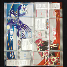 Pokemon TCG PRIMAL CLASH KYOGRE vs GROUDON CARD GAME PAPER PLAYMAT UNFOLDED