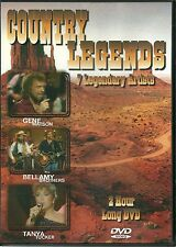 COUNTRY LEGENDS DVD - 7 LEGENDARY ARTISTS - GENE WATSON, TANYA TUCKER & MORE
