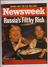 NEWSWEEK magazine-dec 19,1994-RUSSIA'S FILTHY RICH.