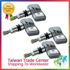Orange P409 Electronic TPMS 4 Replacement Sensors + 4 Valves FOR G VERSION Gray