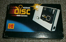 Kodak Disc 4000 Camers - Manual - Boxed - Vintage - Retro