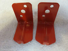 LOT OF 2-UNIVERSAL WALL MOUNT 10, 15 & 20 lb. SIZE FIRE EXTINGUISHER BRACKET NEW