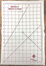 June Tailor Pressing Mat Quilt Square N Press Vtg Inches Centimeters Ruler Iron