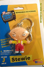 STEWIE BENDABLE KEYCHAIN NEW SEALED 1ST CLASS 24 HR SHIP + free  tracking RARE