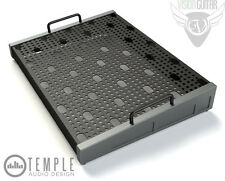 "Temple Audio Design Duo 17 (17"" x 12.5"") Pedalboard - Gun Metal"