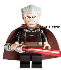 STAR WARS LEGO COUNT DOOKU  MINIFIGURE BRAND NEW