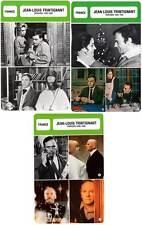FICHE CINEMA x3 : JEAN-LOUIS TRINTIGNANT DE 1955 A 1996 -  France (Bio/Filmo)