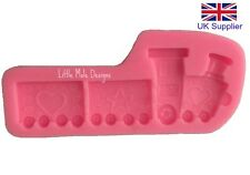 Train Shape Silicone Mould For Fondant Sugarcraft Tool Mold Cake Decorating